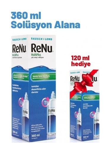Renu Renu Multi Plus Lens Solüsyonu 360 ml Lens Solüsyonu Hediyeli 120 ml Renksiz